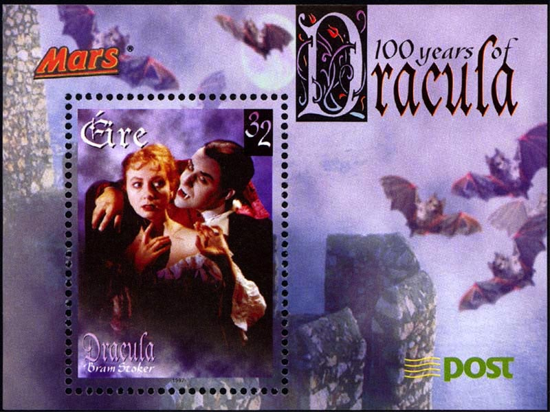 Dracula Stamp wallpaper