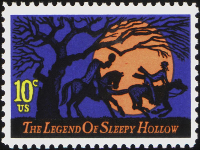 Legend of Sleepy Hollow Stamp wallpaper