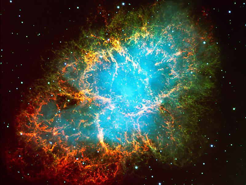 The Crab Nebula wallpaper