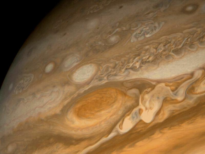 Jupiter Closeup from Voyager 1 in 1997 wallpaper