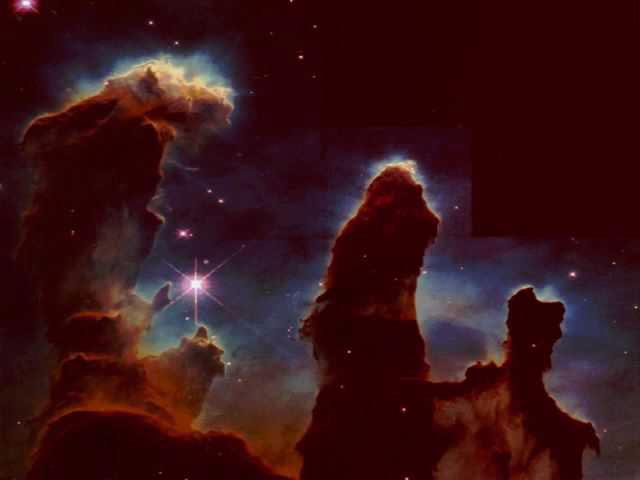 Hubble TelescopeStars Being Born wallpaper