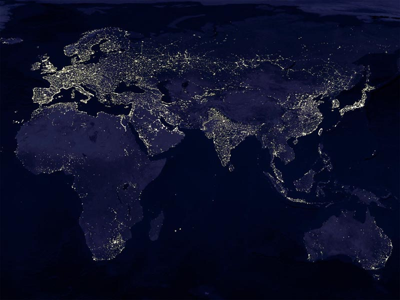 Composite of the Old World by Night wallpaper