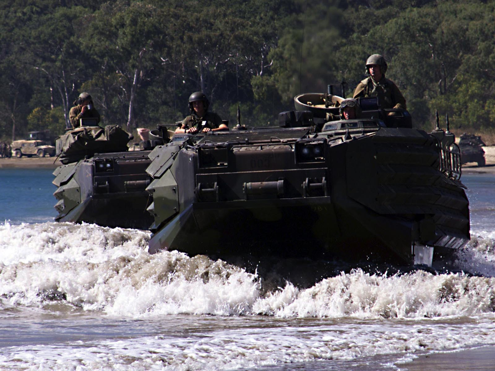 Amphibious Assault Vehicles wallpaper