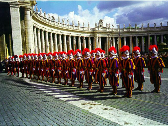 Vatican Swiss Guard wallpaper