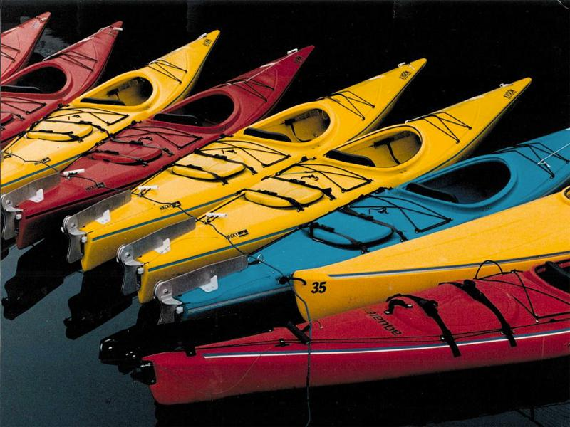 Kayaks wallpaper