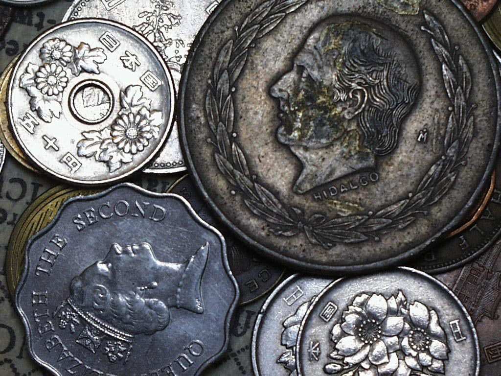 Coins wallpaper