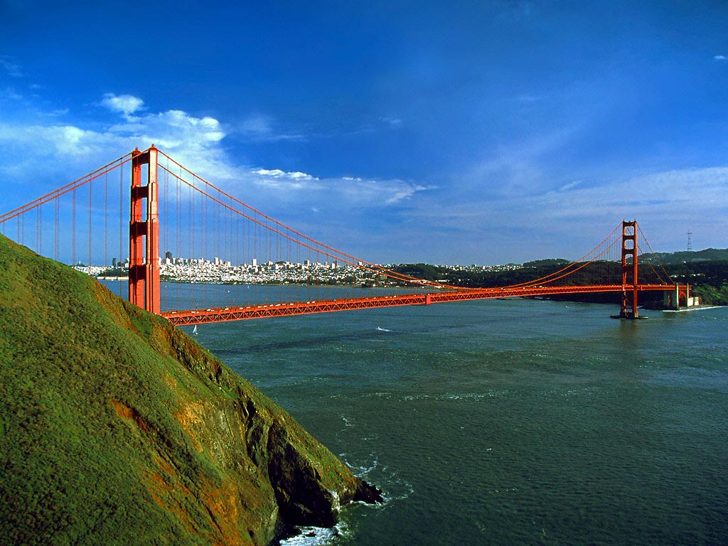 San Francisco Golden Gate Bridge 2 wallpaper