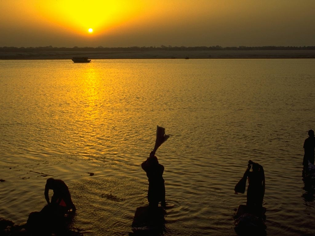 Ganges River India wallpaper