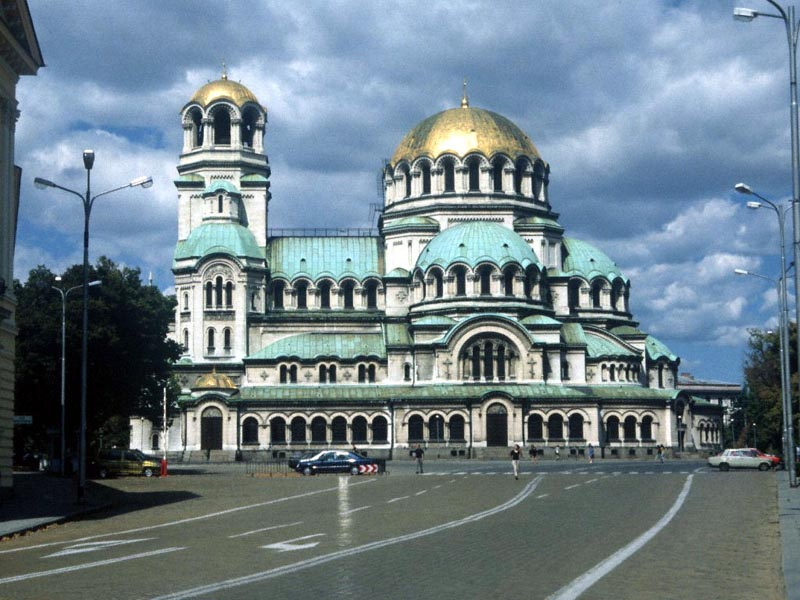 Alexander Nevski Cathedral in Sofia wallpaper