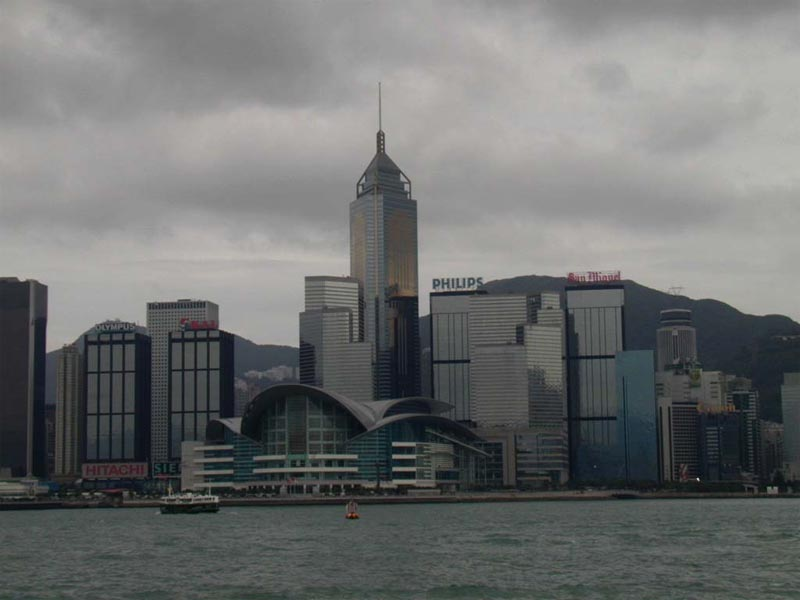 Victory Harbour in Hong Kong China wallpaper