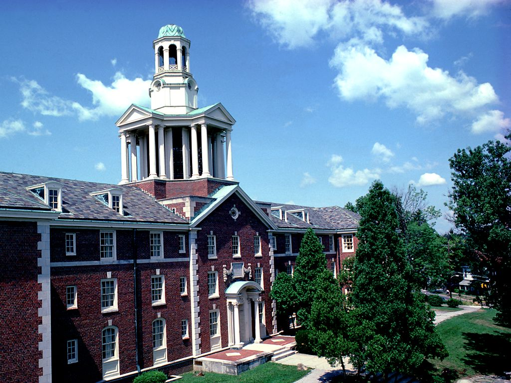 Ohio Wesleyan University<br />Stuyvesant Hall in September wallpaper