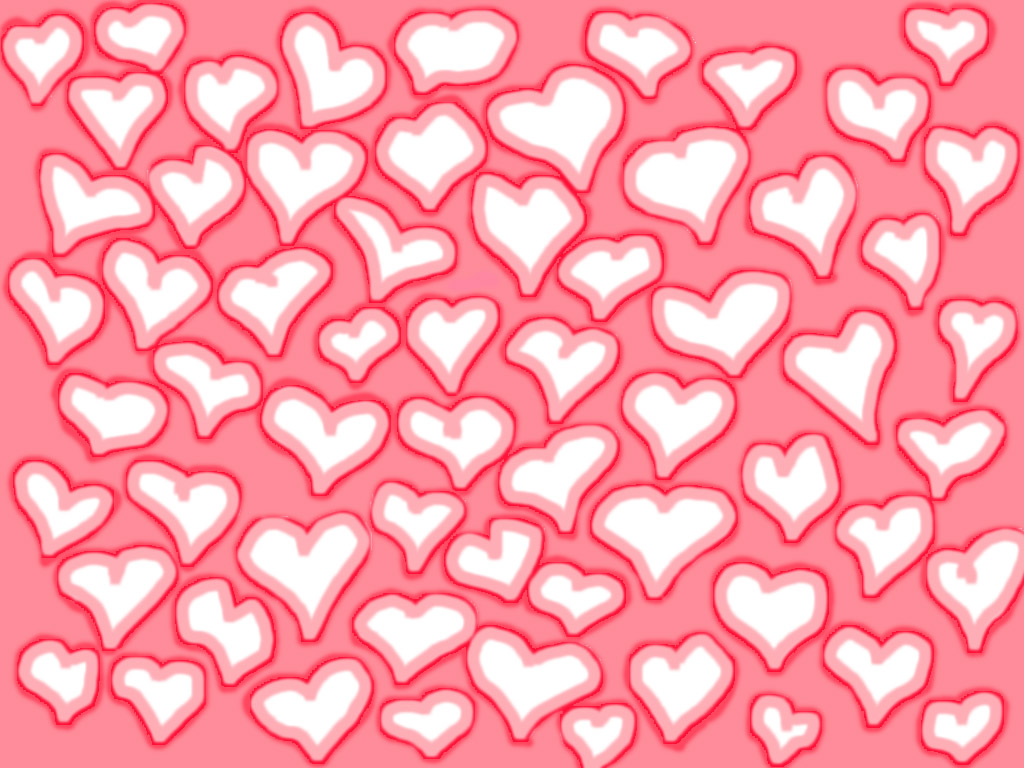 Lots o' Hearts wallpaper
